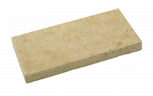 Beige Travertine, Tumbled and Unfilled
