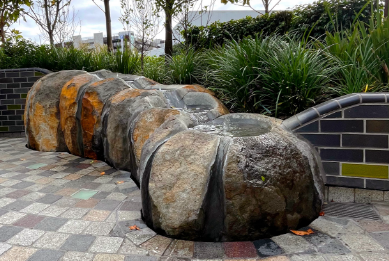 Stone Furniture, Water Feature